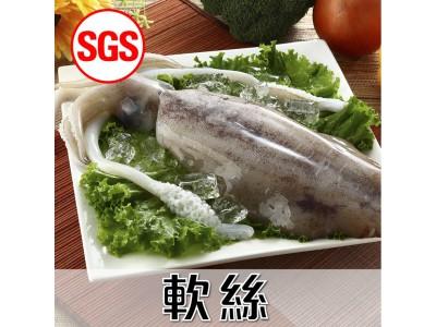 SGS檢驗 軟絲1尾