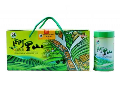 阿里山優選手採茶葉禮盒(150g*4罐/盒)