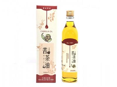 梅山苦茶油(500ml/瓶)