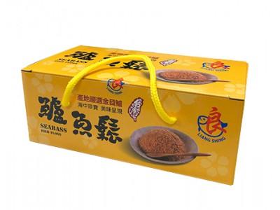金目鱸魚鬆(15g/20包/盒,原味+海苔芝麻)
